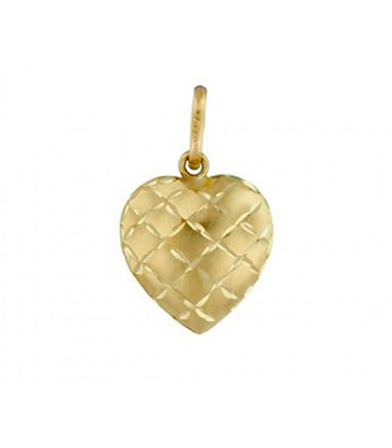Colgante Oro 18 Quilates Corazón 12mm