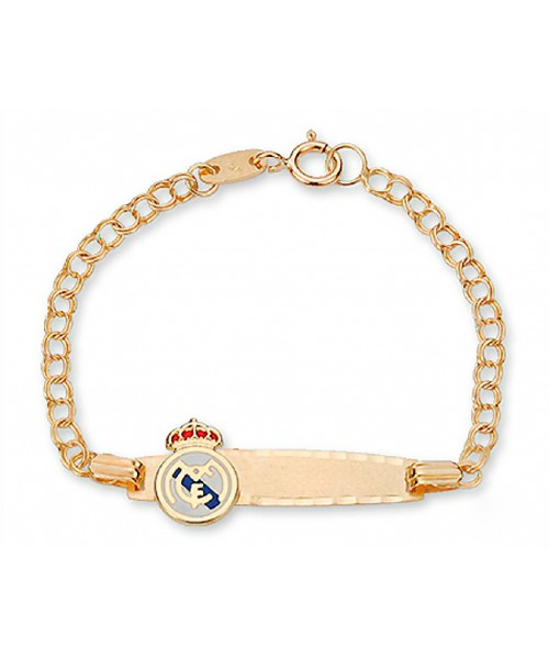 Pulsera Escava Oro Real Madrid