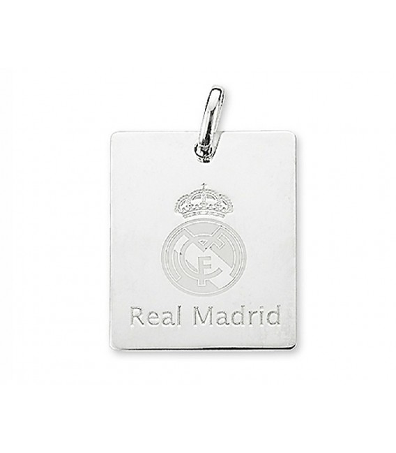 Colgante Plata Real Madrid