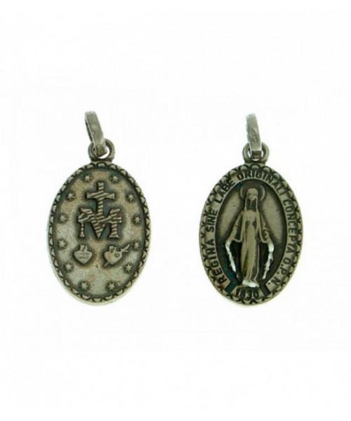 Medalla Plata de Ley Virgen del la Milagrosa
